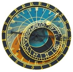 Psychic Astrology Clock Logo