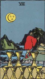 Tarot Card: Eight of Cups