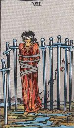 Tarot Card: Eight of Swords