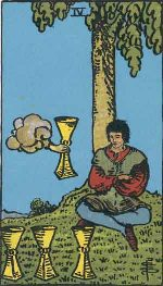 Tarot Card: Four of Cups