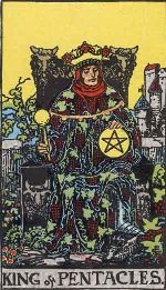 Tarot Card: King of Pentacles
