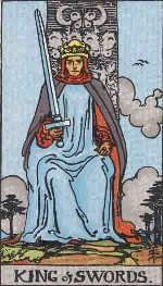 Tarot Card: King of Swords