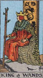 Tarot Card: King of Wands