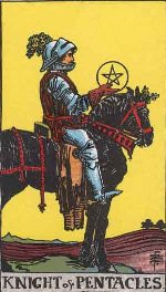 Tarot Card: Knight of Pentacles