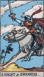 Tarot Card: Knight of Swords