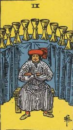 Tarot Card: Nine of Cups