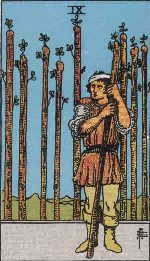 Tarot Card: Nine of Wands