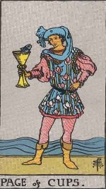 Tarot Card: Page of Cups