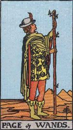 Tarot Card: Page of Wands
