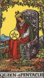 Tarot Card: Queen of Pentacles