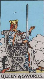 Tarot Card: Queen of Swords