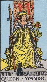 Tarot Card: Queen of Wands