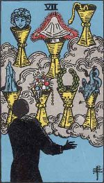 Tarot Card: Seven of Cups