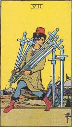 Tarot Card: Seven of Swords
