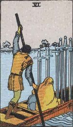 Tarot Card: Six of Swords
