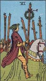 Tarot Card: Six of Wands