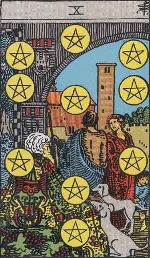 Tarot Card: Ten of Pentacles