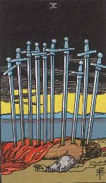 Tarot Card: Ten of Swords