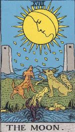Tarot Card The Moon