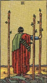 Tarot Card: Three of Wands