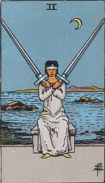 Tarot Card: Two of Swords