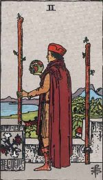Tarot Card: Two of Wands