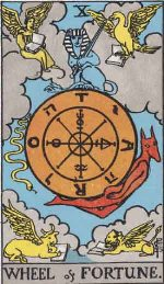 Tarot Card Wheel of Fortune